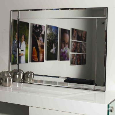 C 137  FRAMELESS BEVELLED  1 MIRROR 65 X 90A