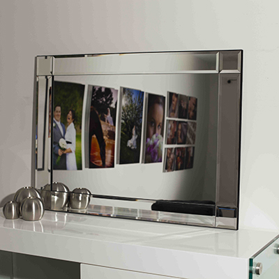 C116 FRAMELESS BEVELLED 1 MIRROR 65 X 90n