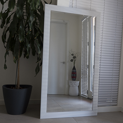 Melbourne mirror cheap floor large wall online for Cheap white mirror